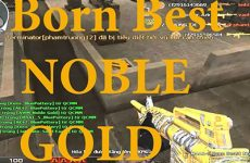 M4A1-S Born Beast Noble Gold - Tiền Zombie v4 - Video CrossFire