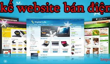 Thiết kế website bán điện thoại giá rẻ BT TV