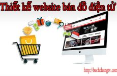 Thiết kế website bán đồ điện tử giá rẻ BTTV