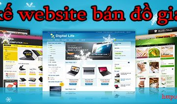 Thiết kế website bán đồng hồ giá rẻ BTTV