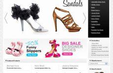 Thiết kế website bán giày dép giá rẻ BTTV