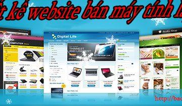 Thiết kết website bán máy tính laptop BTTV