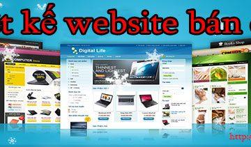 Thiết kế website bán ô tô giá rẻ BT TV