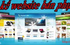 Thiết kế website bán phụ tùng giá rẻ BT TV