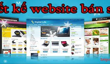 Thiết kế website bán sách giá rẻ BT TV