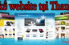 Thiết kế website tại Thanh Hóa giá rẻ BT TV