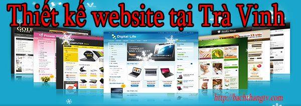 Thiết kế website tại Trà Vinh giá rẻ BT TV
