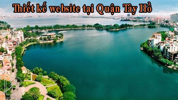 Thiết kế website tại Quận Tây Hồ giá rẻ BTTV