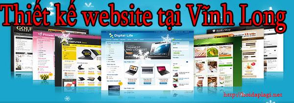 Thiết kế website tại vĩnh long giá rẻ, chuyên nghiệp BTTV