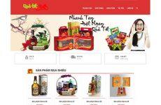 Thiết kế website bán quà tặng giá rẻ BTTV
