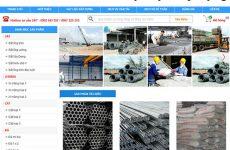 Thiết kế website bán vật liệu xây dựng giá rẻ BTTV